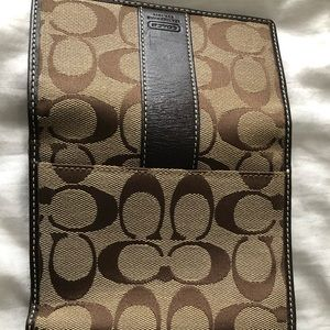 Brown Medium Size Coach Wallet